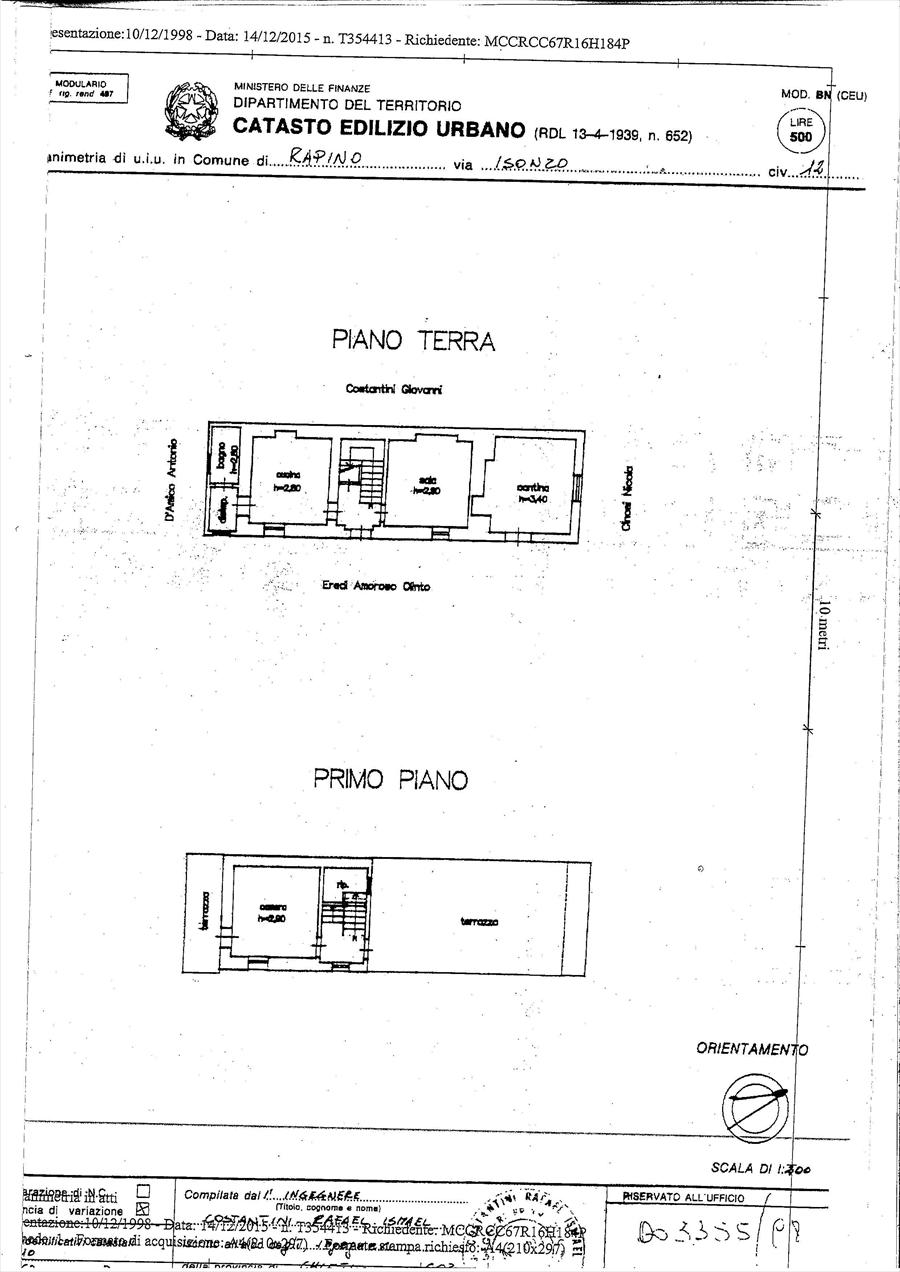 Vendita Rustico/Casale/Corte Rapino