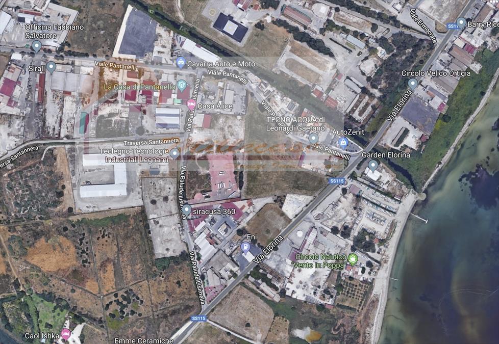 Terreno Industriale in Vendita Siracusa