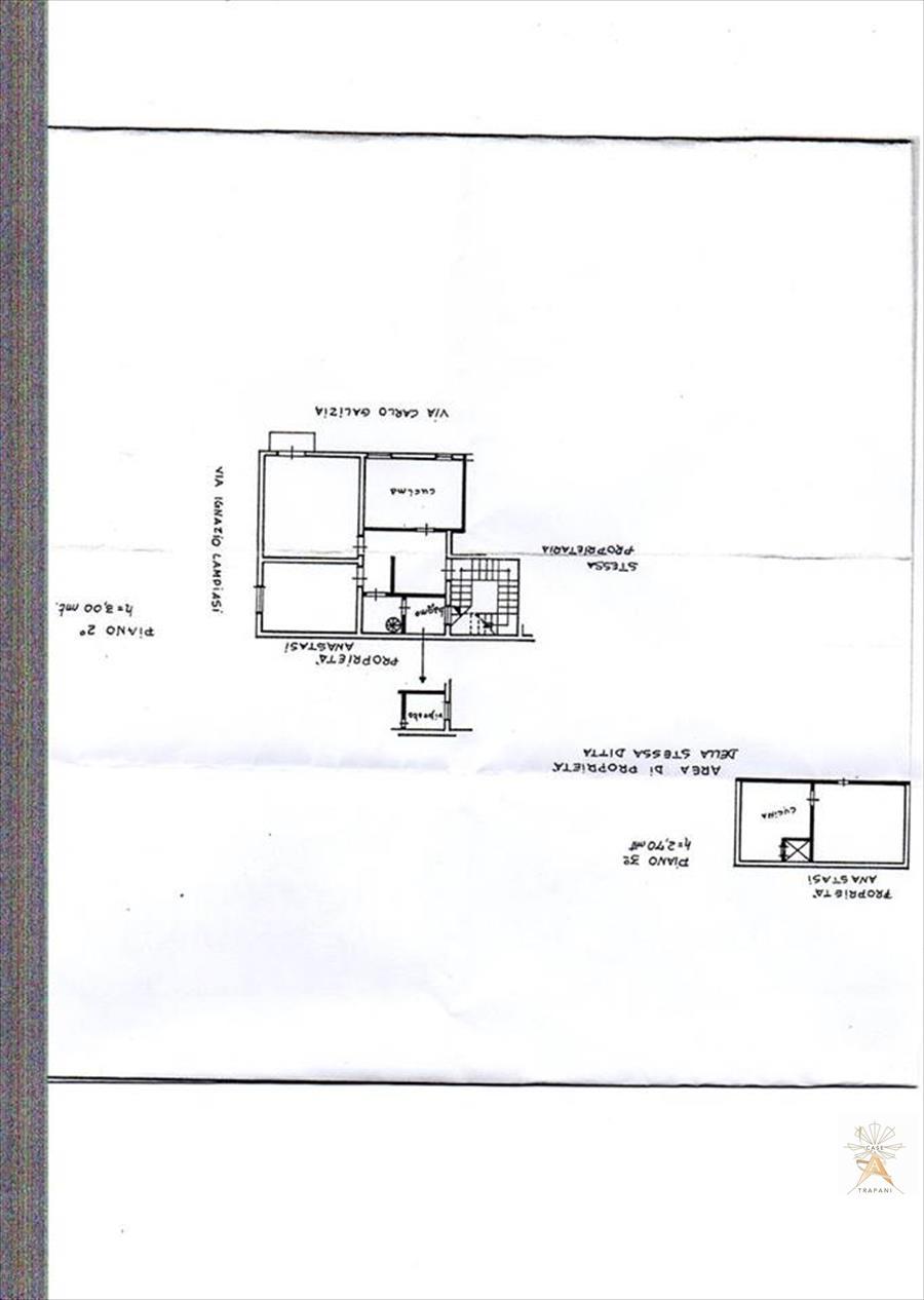 Appartamento in vendita a Trapani, 4 locali, prezzo € 65.000 | Cambio Casa.it