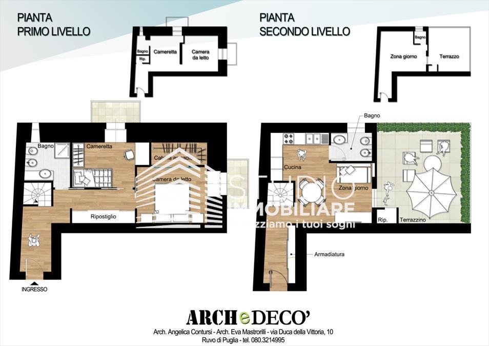 Appartamento in vendita a Ruvo di Puglia, 3 locali, prezzo € 85.000 | CambioCasa.it