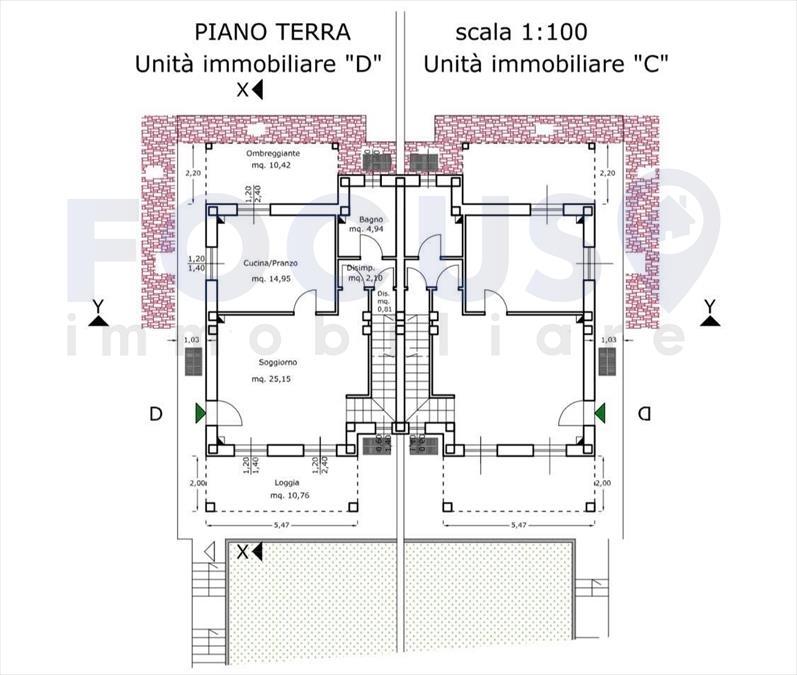 Villa bifamiliare Cerreto Guidi 751773