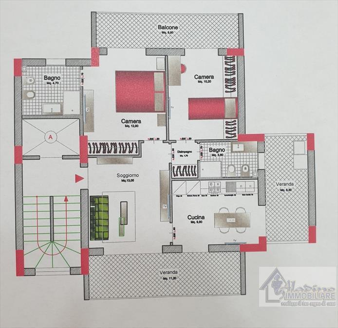 Appartamento Reggio di Calabria 434