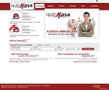 Modello sito web immobiliare - TMP010