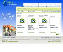 Modello sito web immobiliare - TMP008