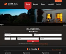 Modello sito web immobiliare - TMP018