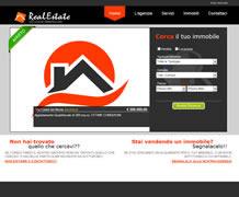 Modello sito web immobiliare - TMP005