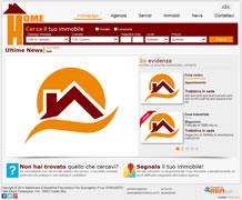 Modello sito web immobiliare - TMP016